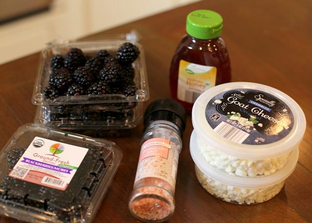 blackberry goat cheese dip