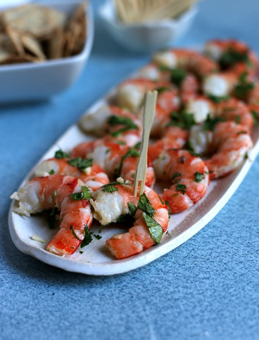 Easy Cilantro Shrimp Appetizer Recipe