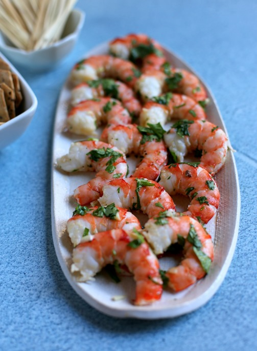 Easy Cilantro Shrimp Appetizer