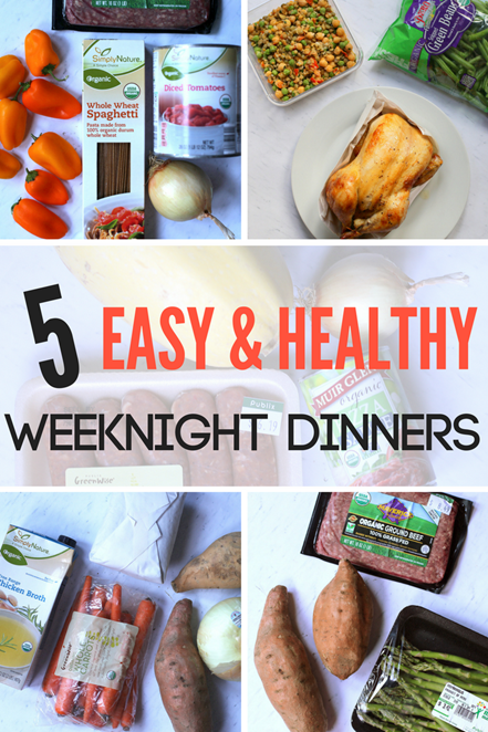 5 Easy and Healthy Weeknight Dinners
