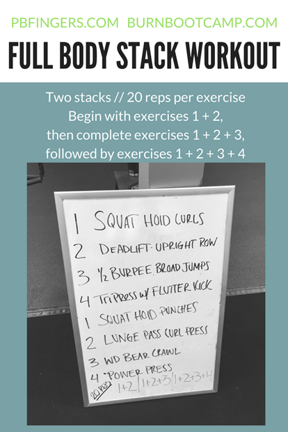 Full Body Stack Workout