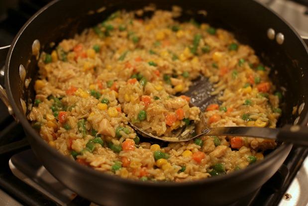 Korma Rice Veggies and Chicken