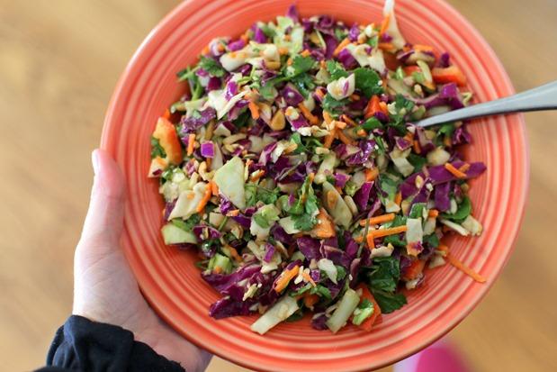 Thai Crunch Salad Iowa Girl Eats