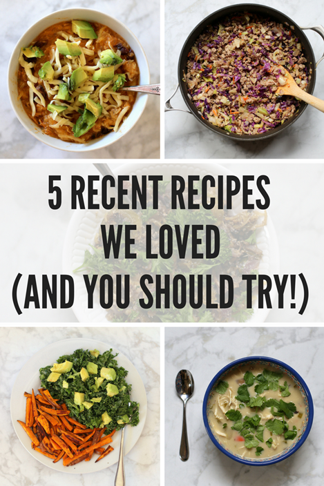 5 Recipes We Love