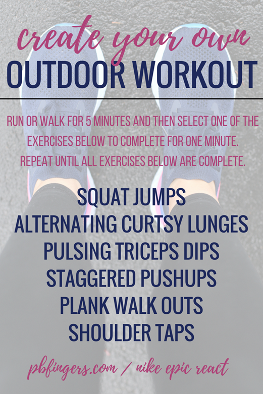 Create Your Own Outdoor Workout