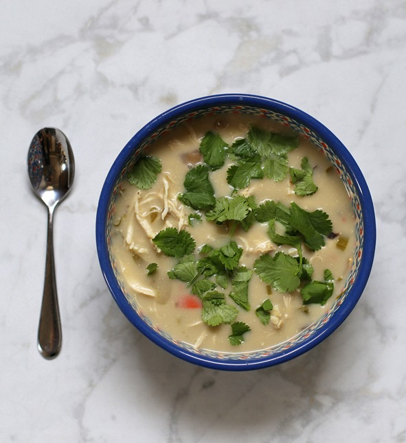 Healthy Thai Coconut Soup