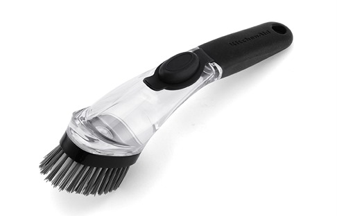 Soap Dispensing Brush