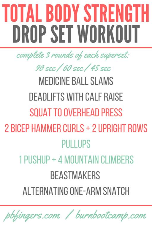 Total-Body-Strength-Drop-Set-Workout png - Peanut Butter Fingers