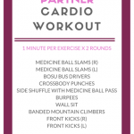 partner cardio workout