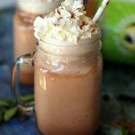 High Protein Frozen Hot Chocolate