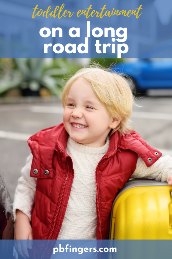 How to Keep a Toddler Entertained on a Long Road Trip
