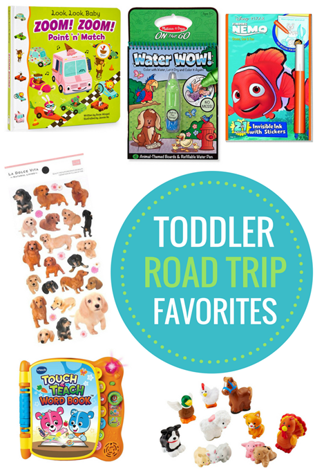 Toddler Road Trip Favorites and Tips for Traveling with a Toddler