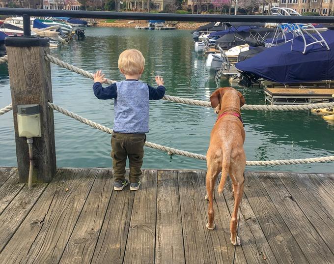 lake norman boat dock chase sadie