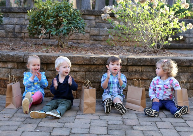 Egg Hunt Easter 2018 Chase Lilly Lily Caleb