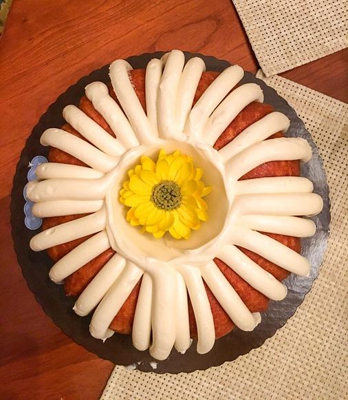 Lemon Nothing Bundt Cake
