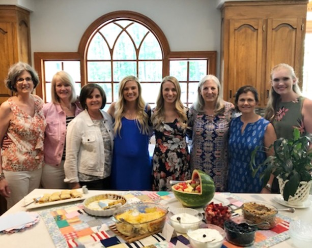 family baby shower and sprinkle