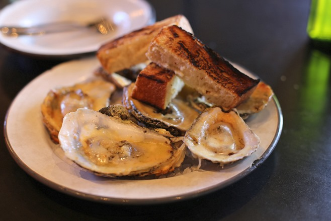 leon's chargrilled oysters