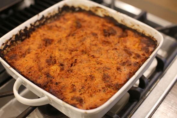 paleo spaghetti squash casserole