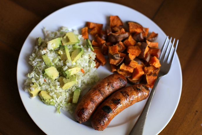 Chicken Sausage Dinner