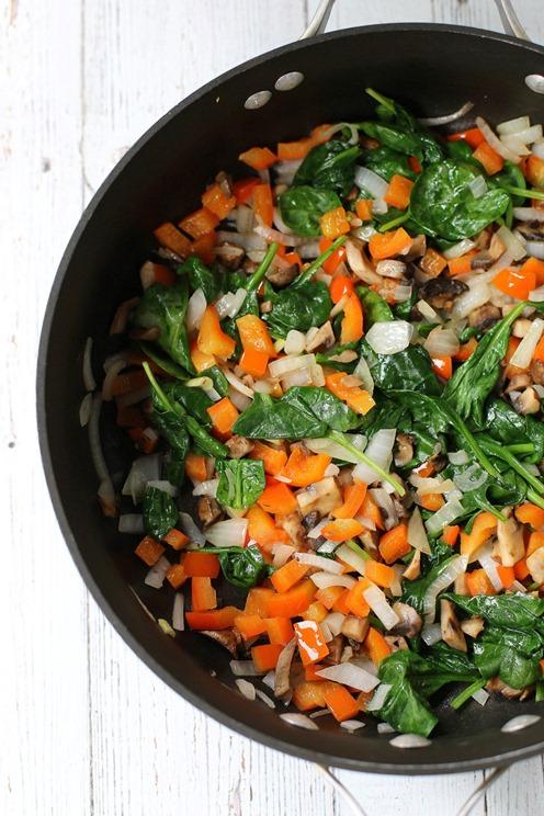 Easy Crustless Vegetable Quiche Recipe