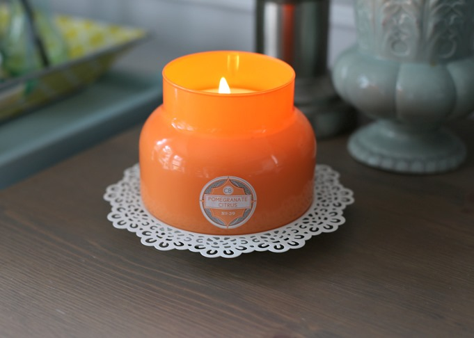 Pomegranate Citrus Capri Blue Candle