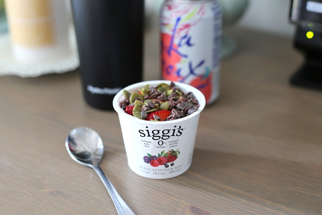 Siggi's Yogurt with Toppings