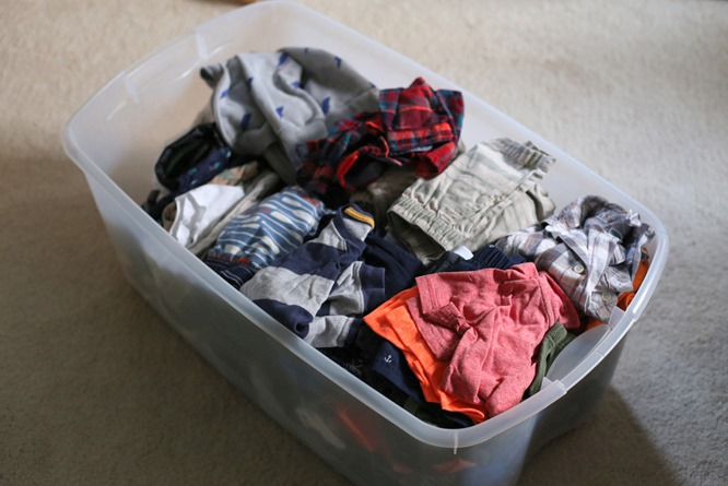 Toddler Clothes Storage