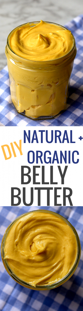 DIY Organic Belly Butter