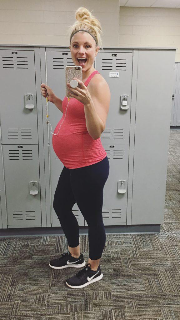 37 Weeks Pregnant Baby 2