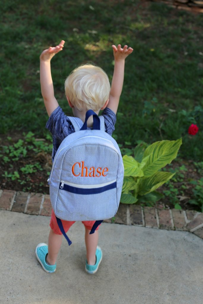 Toddler Personalized Backpack