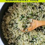 Copycat Zoe's Kitchen Cauliflower Rice