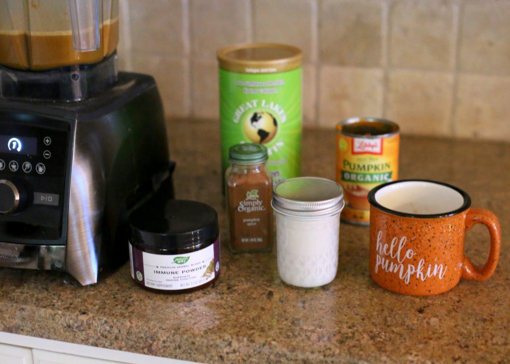 Immune Boosting Pumpkin Spice Latte