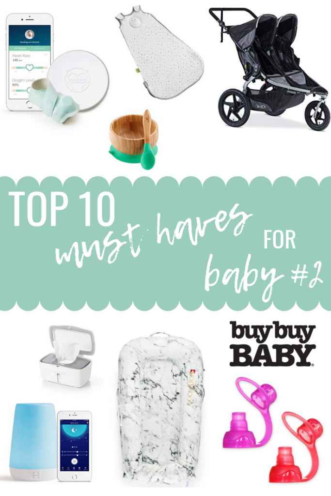 Top 10 Baby #2 Must Haves