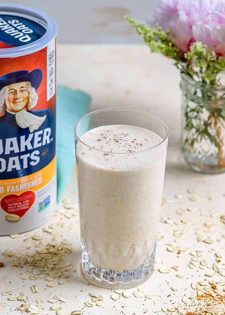 Oatmeal Snickerdoodle Smoothie
