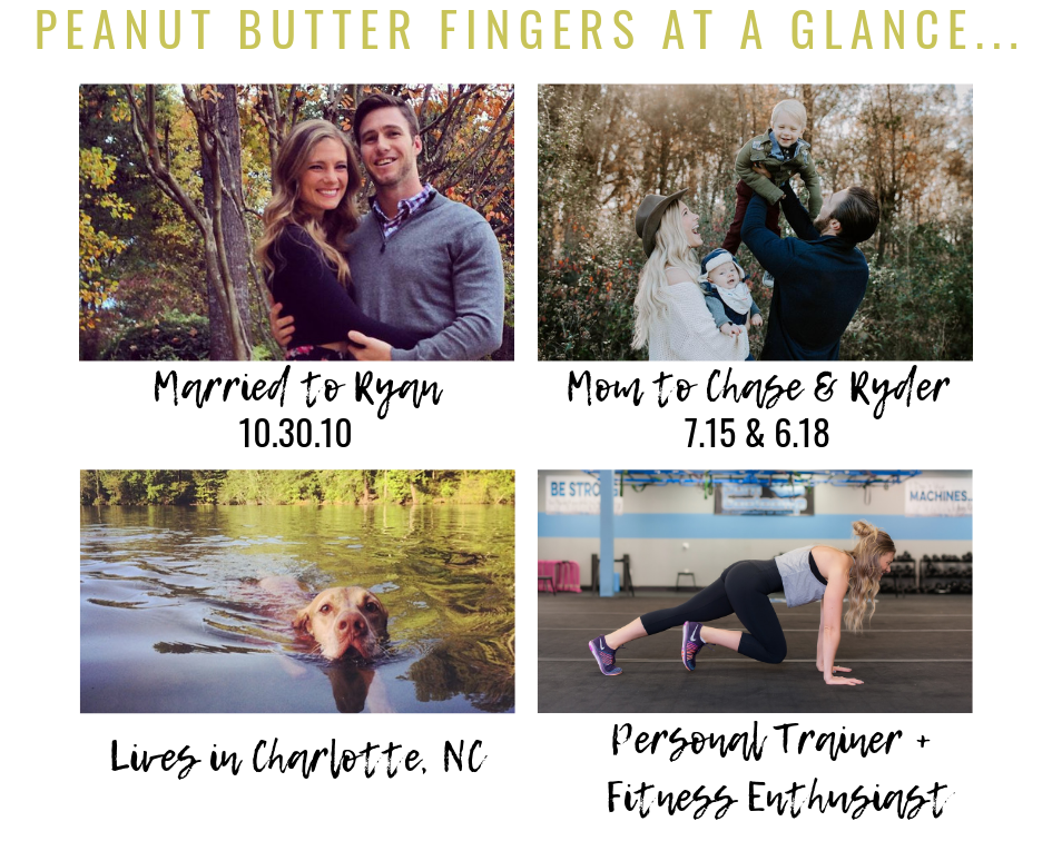 Peanut Butter Fingers