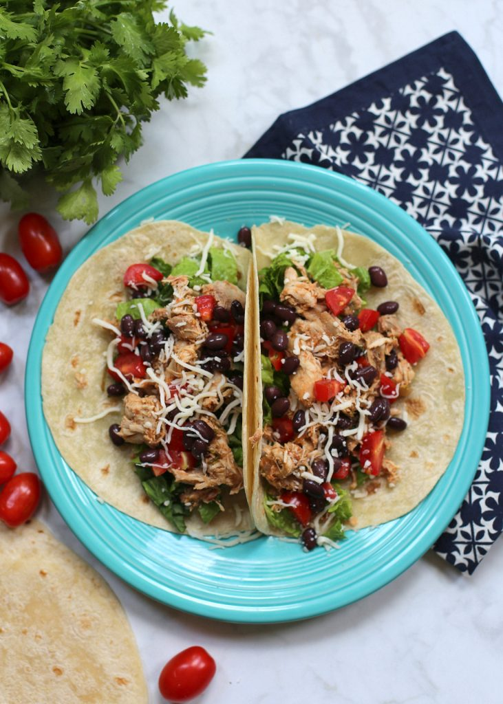 slow cooker cilantro lime salsa chicken