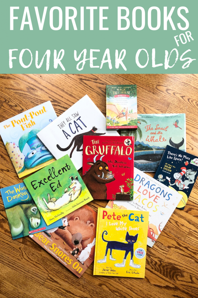 Best Books for Four Year Olds