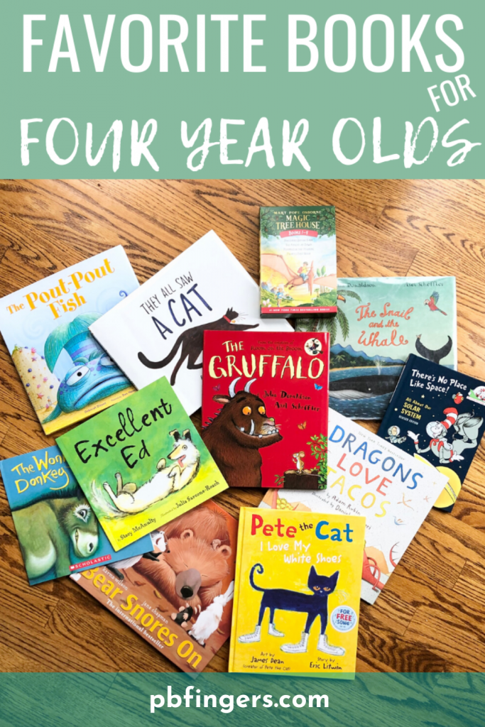 Favorite Books for Four Year Olds