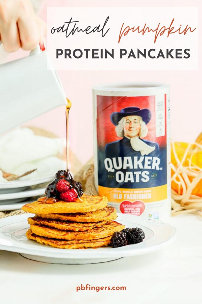 Oatmeal Pancakes Protein Pancakes