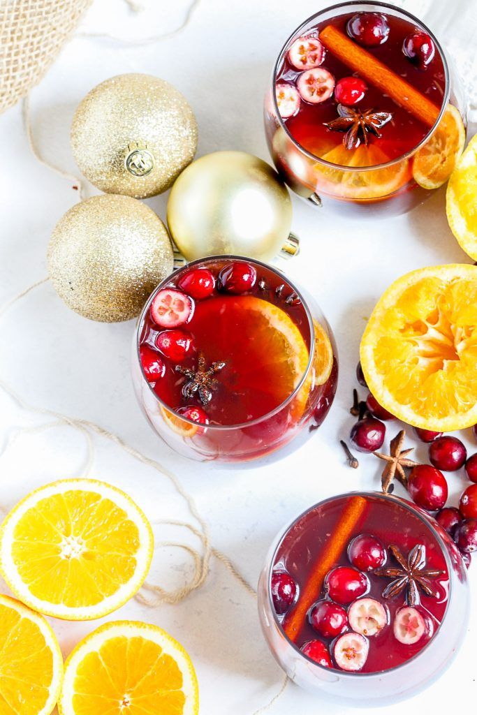 Slow Cooker Holiday Mulled Wine