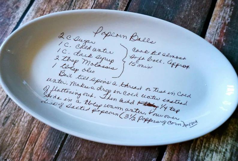 Поздравление в стихах подарок тарелки