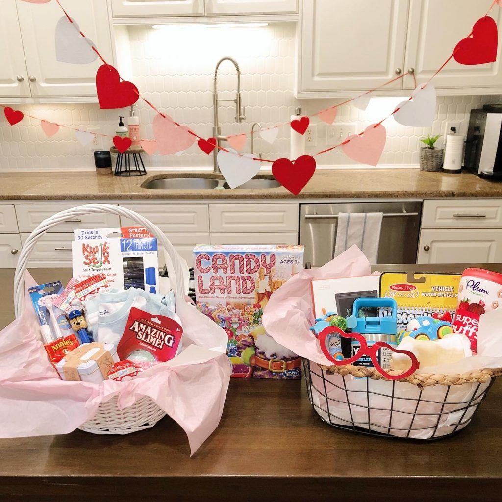 Valentine's Day Gift Baskets for Kids