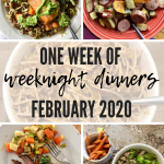 Week of Weeknight Dinners