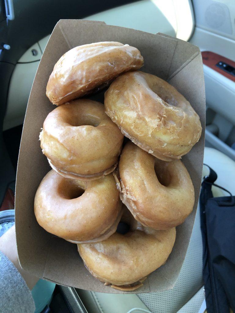 Milk Bread Donuts