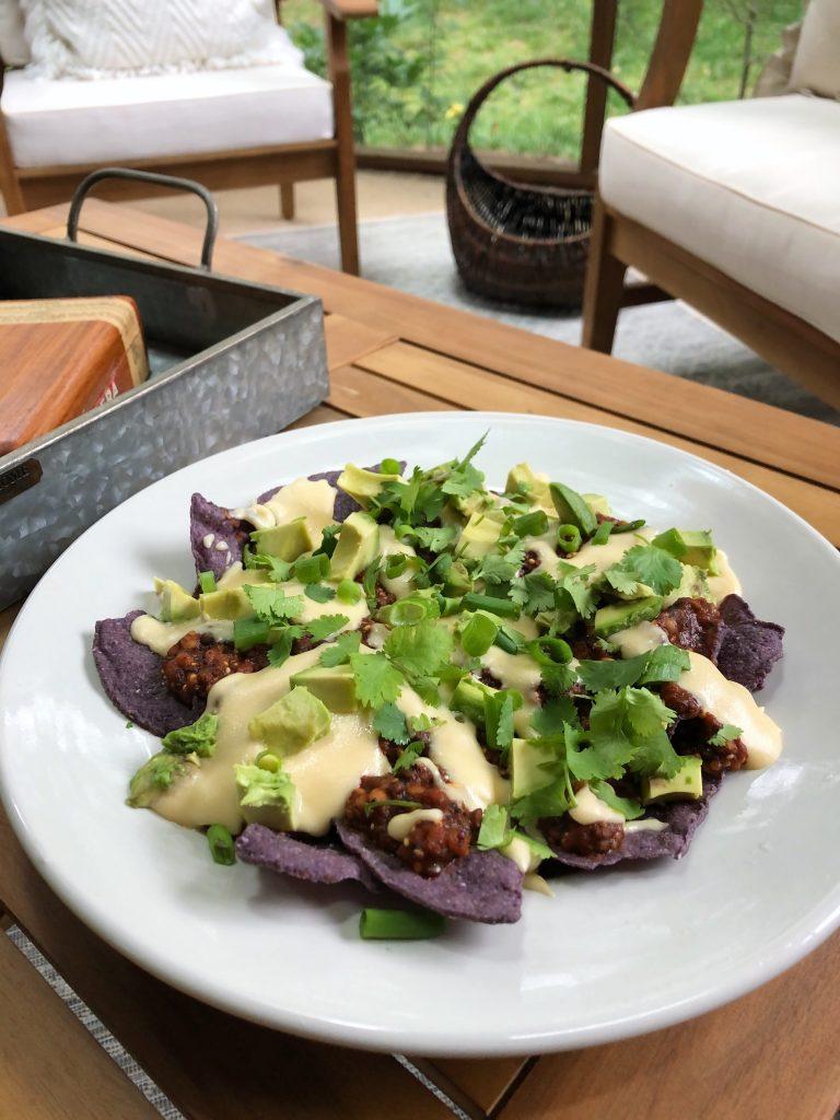lentil nachos