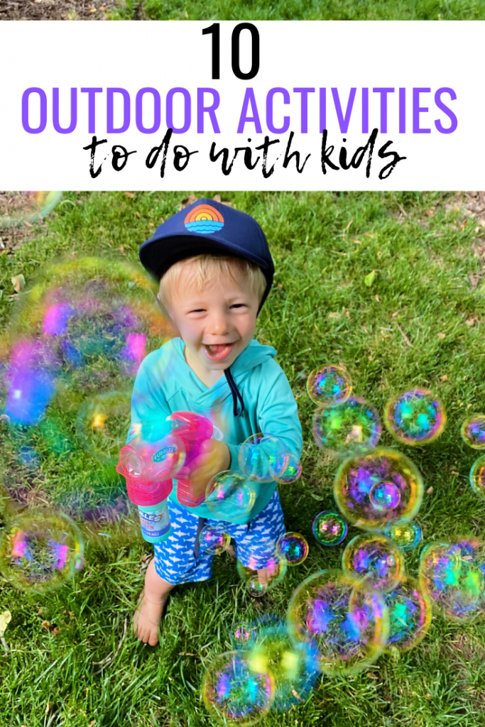 10 Outside Activities to Do with Kids