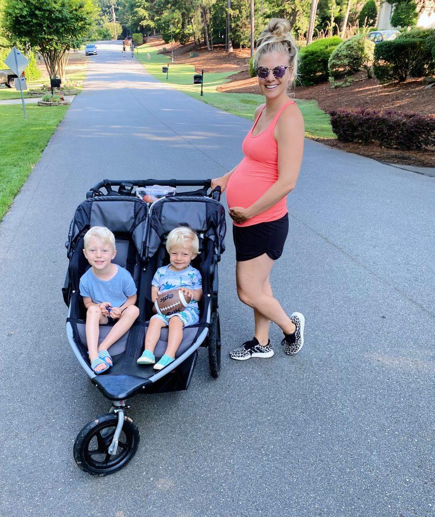 Julie 28 weeks pregnant Ryder Chase
