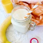 Banana Orange Protein Smoothie