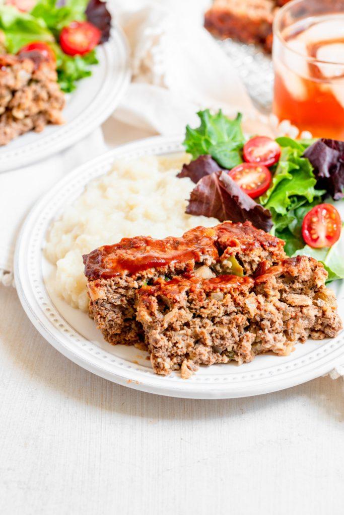 Easy BBQ Meatloaf