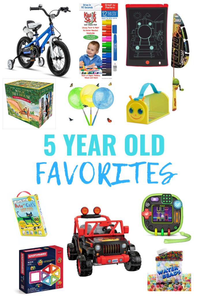 5 Year Old Favorites